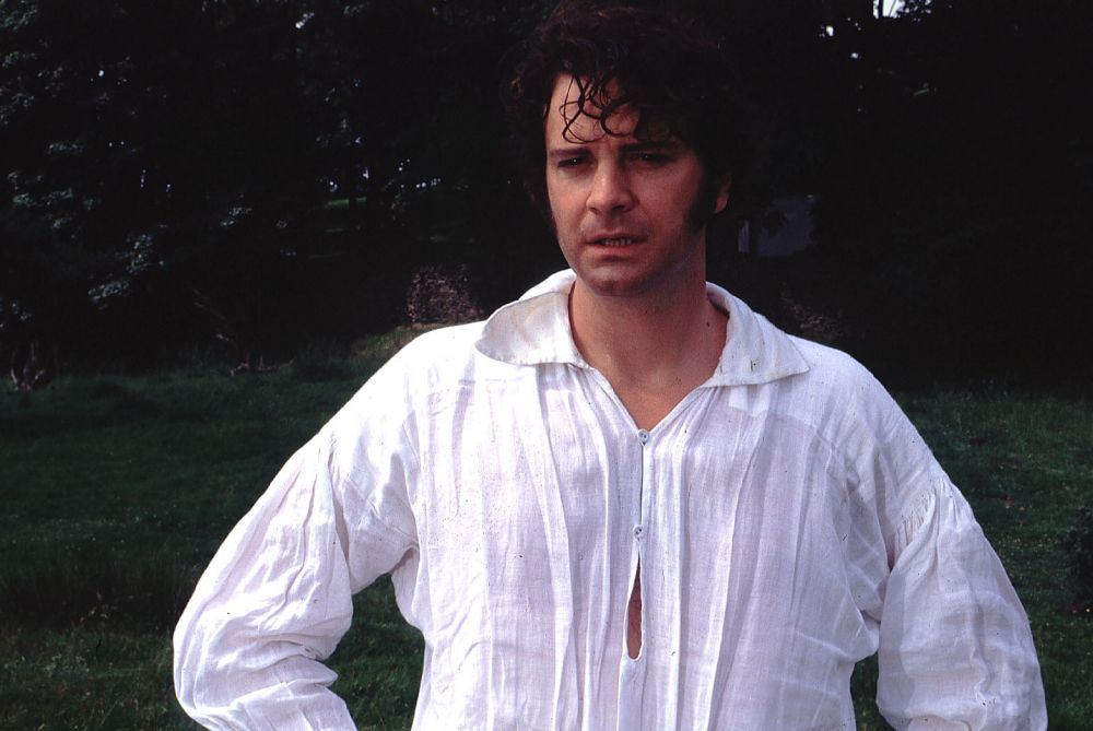 Colin Firth som mr Darcy Foto: BBC
