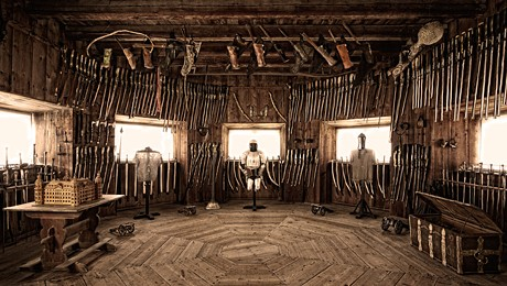 Picture of the armoury
