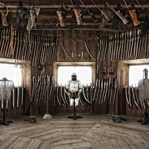Armoury at Skoklosters Castle