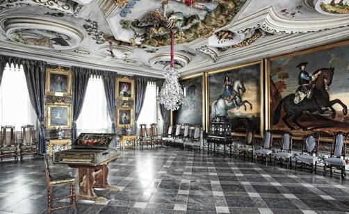 Interior from Skokloster Castle