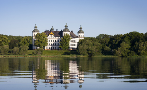 Skokloster Castle seen from the water